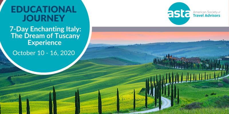 ASTA FAM to Italy: The Dream of Tuscany Experience