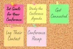 Set Goals  for Your  Confer