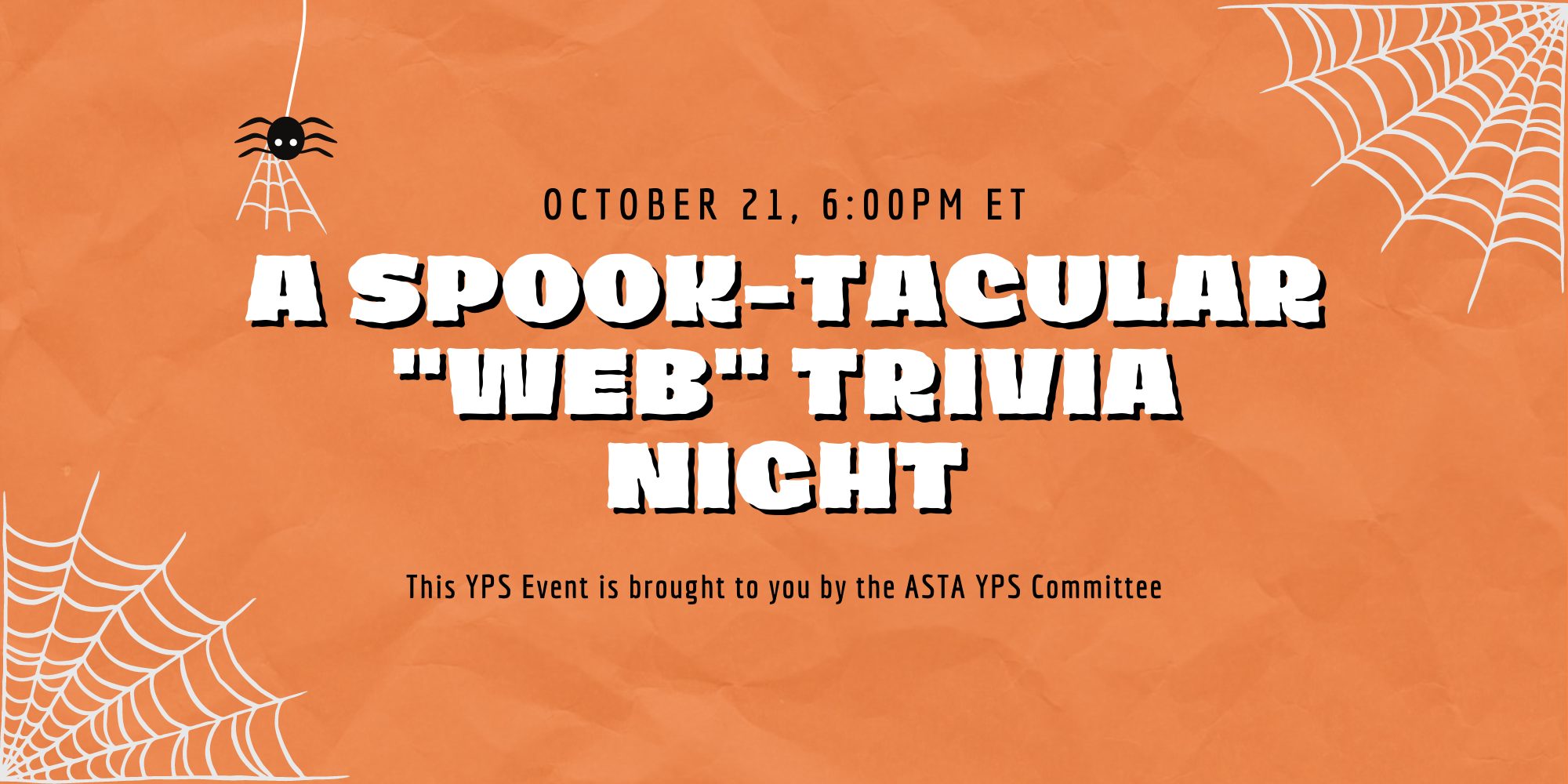 Fall Trivia Night with the Young Professional Society of ASTA