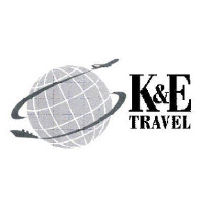 K&E Travel logo