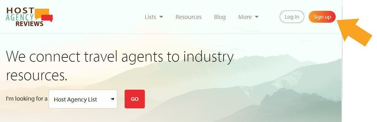 Host Agency Reviews 2.0 Profile - Sign Up