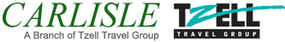 Carlisle Travel Management, a branch of Tzell Travel Group logo