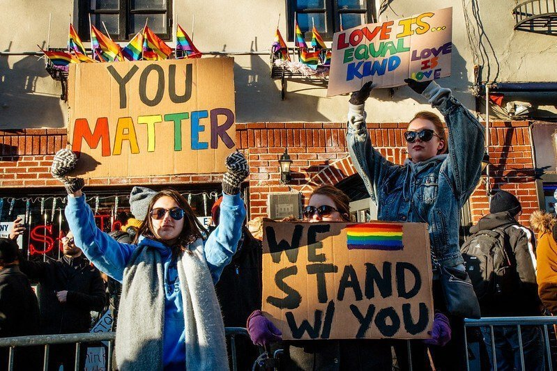 LGBTQ Protest Signs - We Stand With You