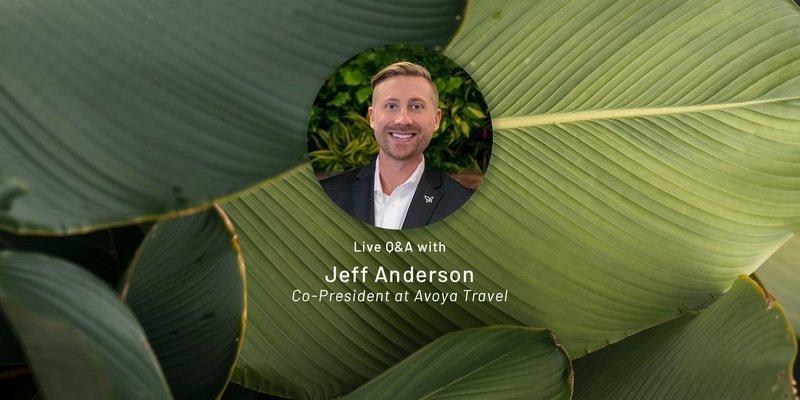 Q&A: Jeff Anderson, Avoya Travel